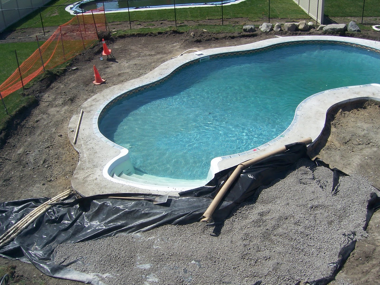 After 4 1 2 years it is done for Knebel design pool ug