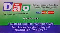 DÃO MATERIAL DE CONSTRUÇÃO - (84) 3281 2549