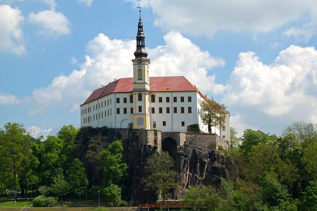 Города Чехии. Дечин. Дечинский замок