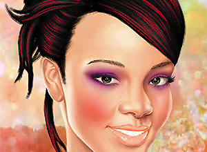 Rihanna Make Up