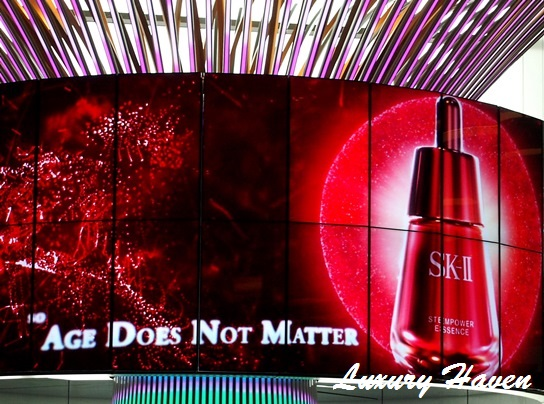 sk-ii first in the world launch changi airport