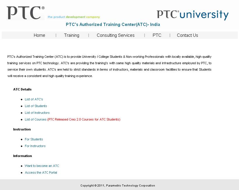 Happy Cading Ptcs Certified User Program Through Atc Partners India