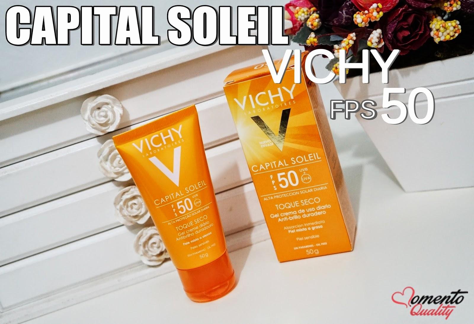 Capital Soleil Toque Seco FPS 50 Vichy