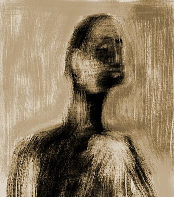 """Desenho executado com o pincel """"Forks Flow Sharp Simple"""", pensado para trabalhos úmido sobre seco."""