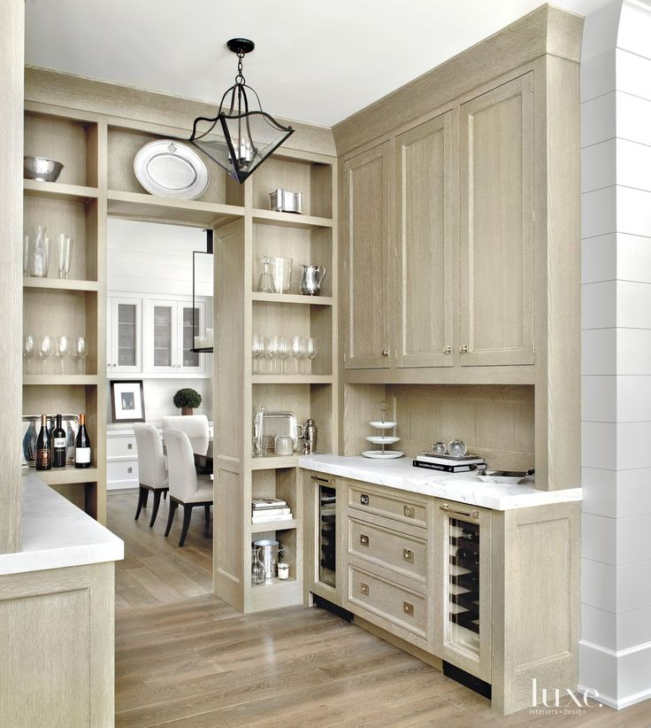 Peonies And Orange Blossoms: Cerused French Oak Kitchens