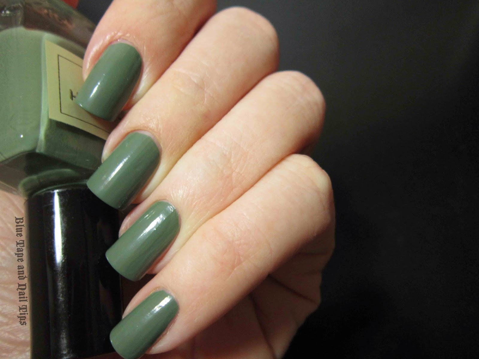 Blue Tape and Nail Tips: January 2014