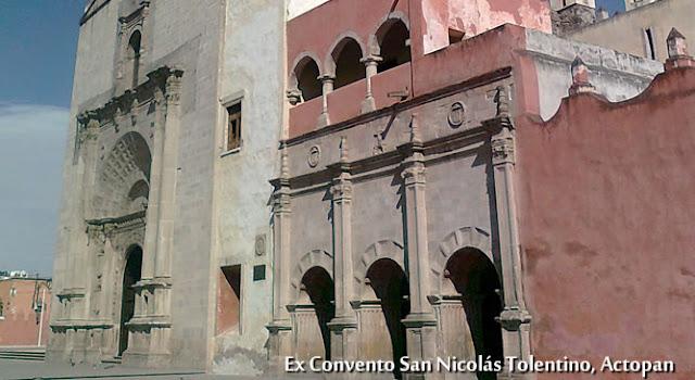 Convento Actopan Hidalgo, México