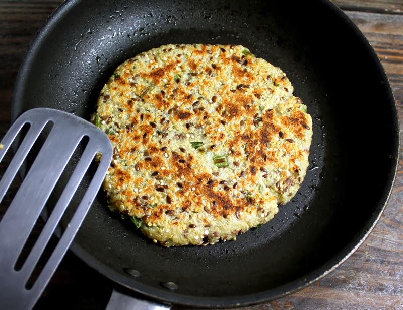 Oppskrift Pannestekt Quinoabrød Glutenfritt Quinoaflak Brød Enkelt