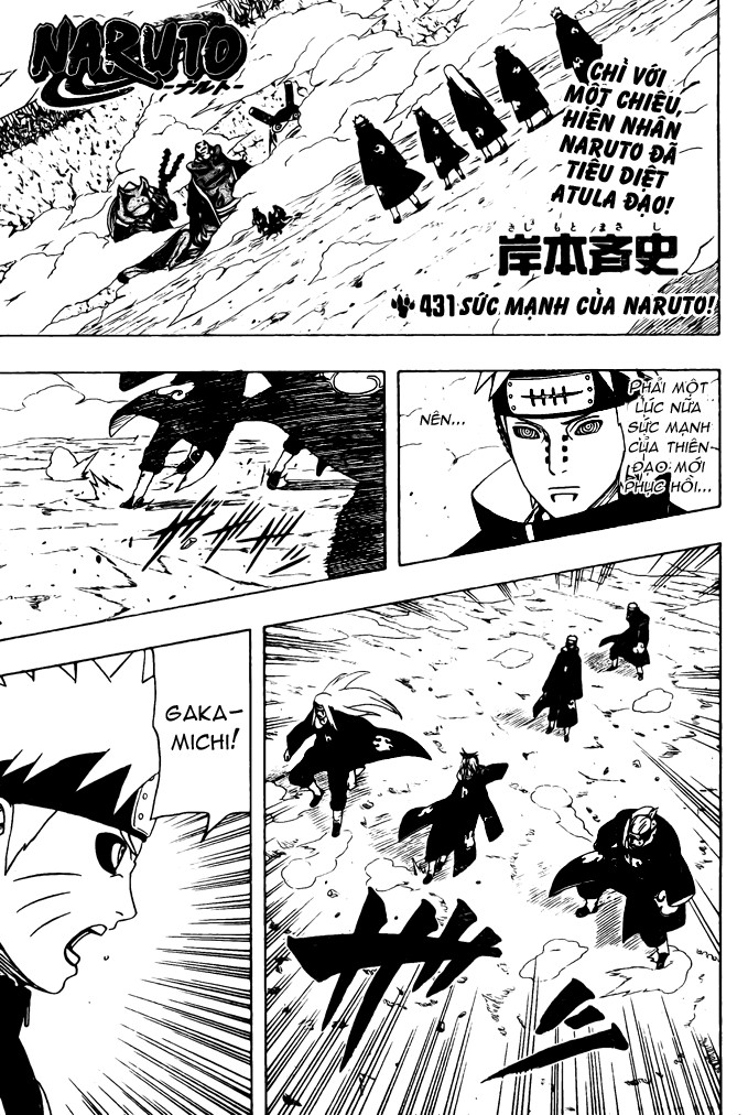 Naruto chap 431 Trang 2 - Mangak.info