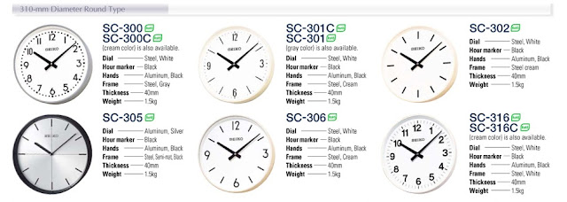 SEIKO Indoor Clock Pulse 24V