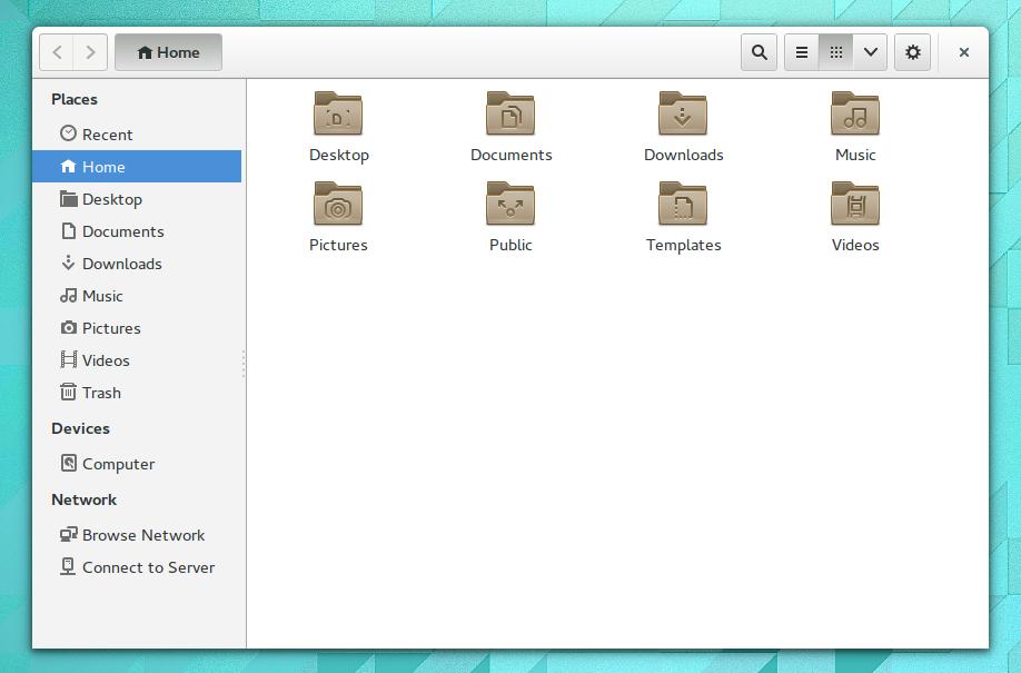 Ubuntu 14.04 LTS nautilus
