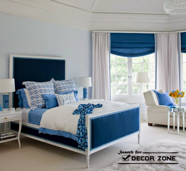 blue bedroom furniture design blue bedroom design with blue wallpaper