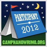 Camp NaNoWriMo 2012 badge