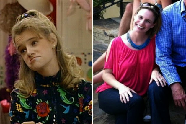Full House cast : past and present - Jodie Sweetin Full House Cast Then And Now 2014