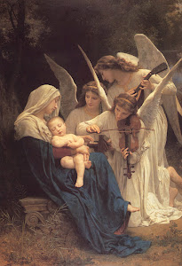 La Vierge aux Anges [The Virgin with Angels] (1881) By William Bouguereau