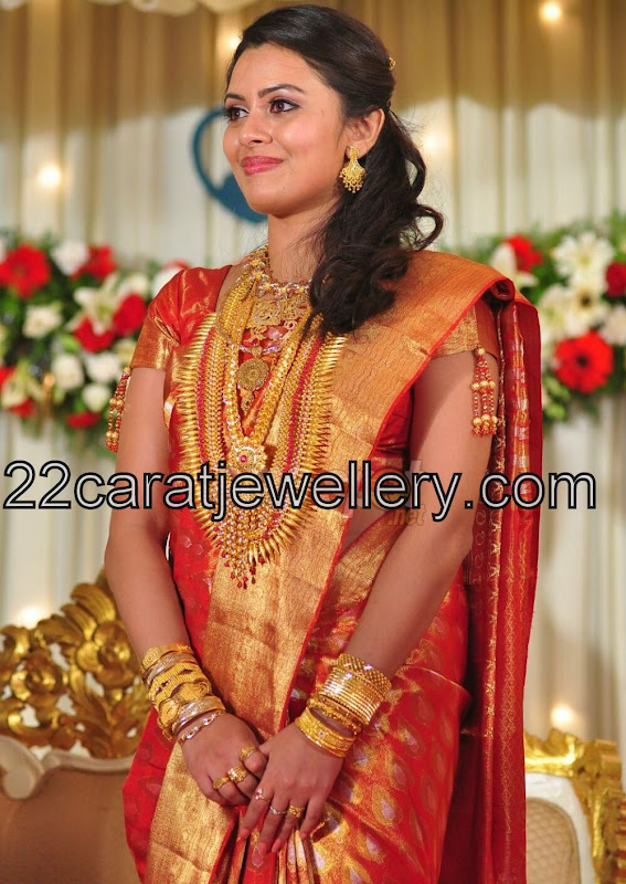 Dhanya Mary Traditional Wedding Jewelry Jewellery Designs