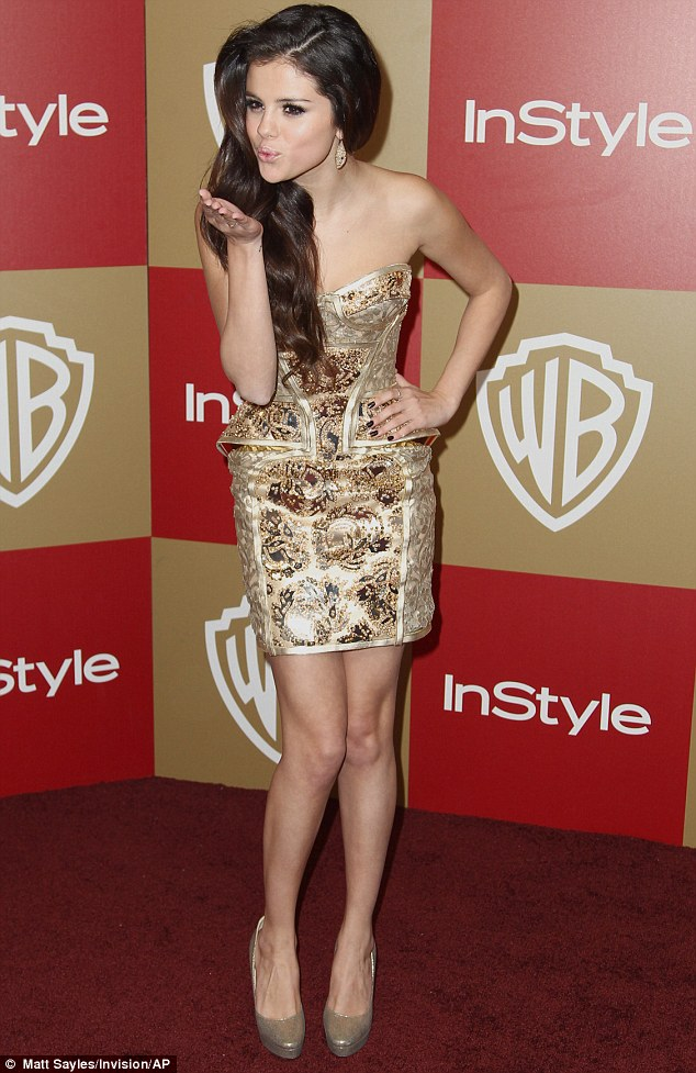 Selena Gomez Red Carpet Short Dress 2013 Fashion Eye