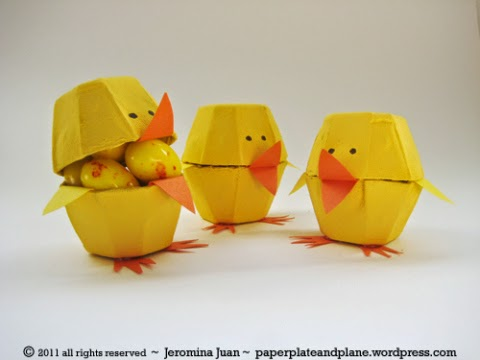 http://paperplateandplane.wordpress.com/2011/03/19/easter-egg-carton-chicks/