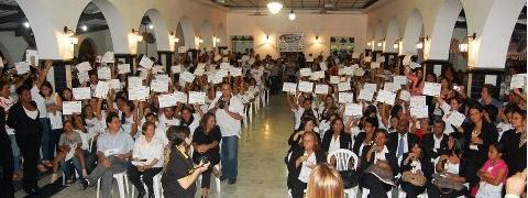A Prefeitura de Limoeiro certifica aproximadamente 600 alunos em cursos de qualificação profissional do Novos Talentos.