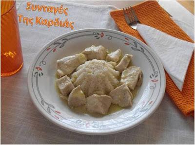 Κοτόπουλο λεμονοσκορδάτο