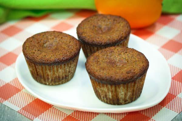 Coconut Flour Orange Poppy Seed Muffins
