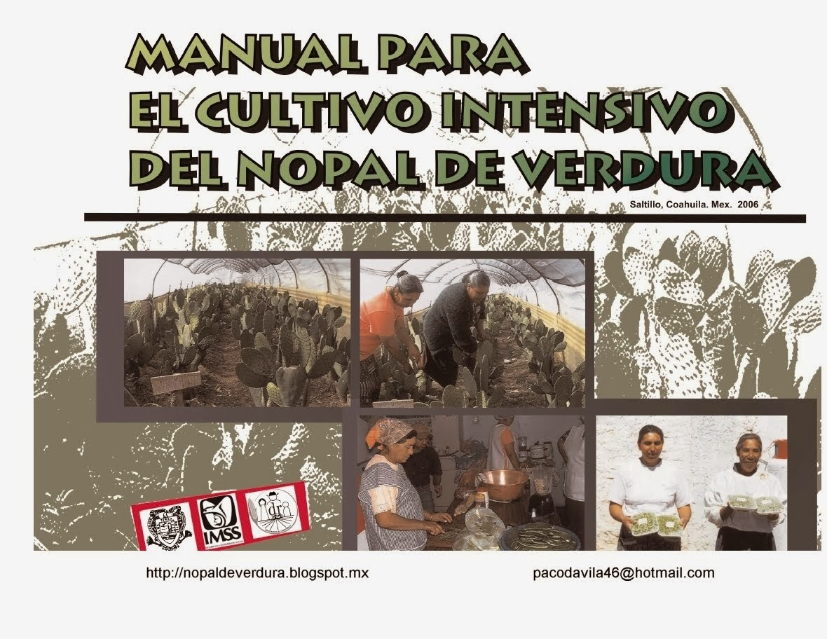 NOPAL manual de cultivo intensivo