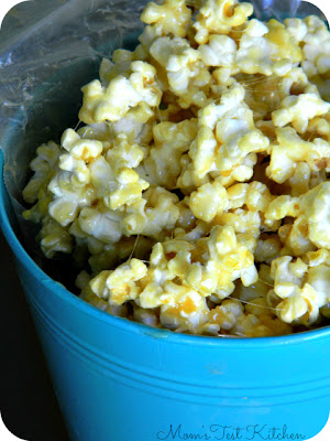 Mom's Test Kitchen: Marshmallow Caramel Corn