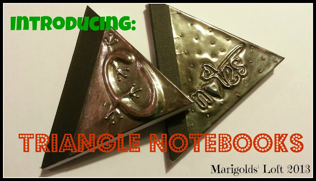 Triangular Notebook Embossed
