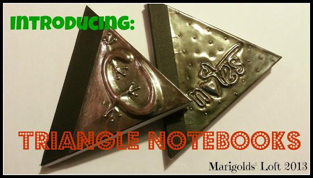 Triangular Notebook Embossed