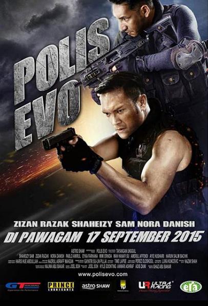 Polis Evo lakonan Shaheizy Sam dan Zizan Razak