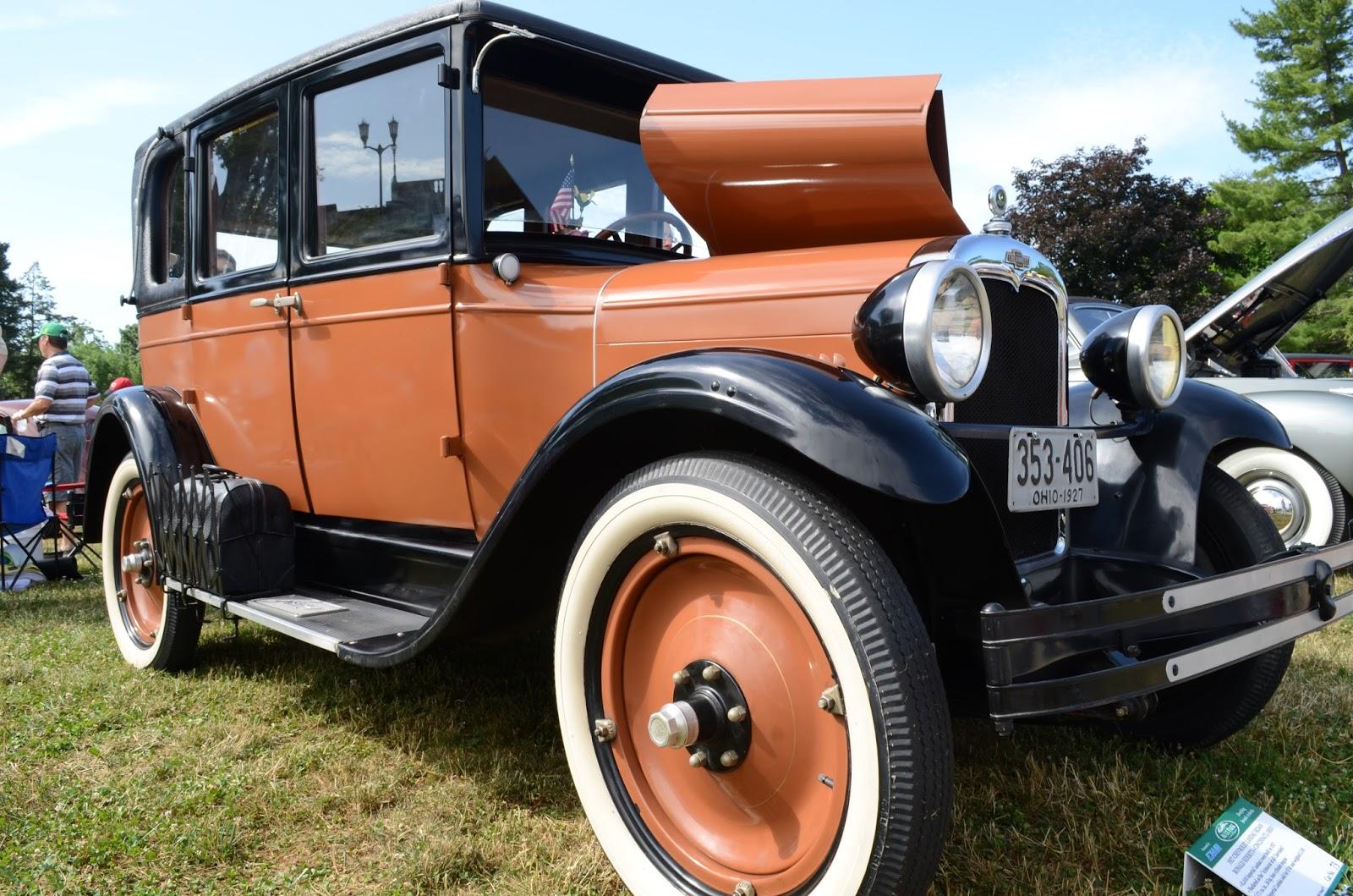 Turnerbudds Car Blog: Pre-War Vintage at Ault Park
