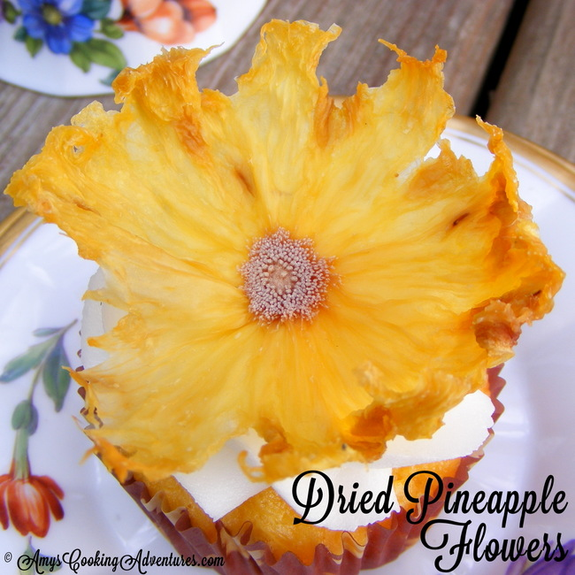 Dried Pineapple Flowers Recipe — Dishmaps