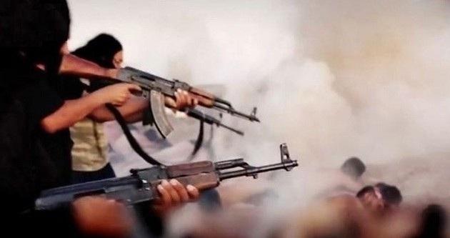 Ομαδική εκτέλεση 163 κατοίκων της Μοσούλης από τους ανάπηρους στο μυαλό και χρήσιμους ηλίθιους