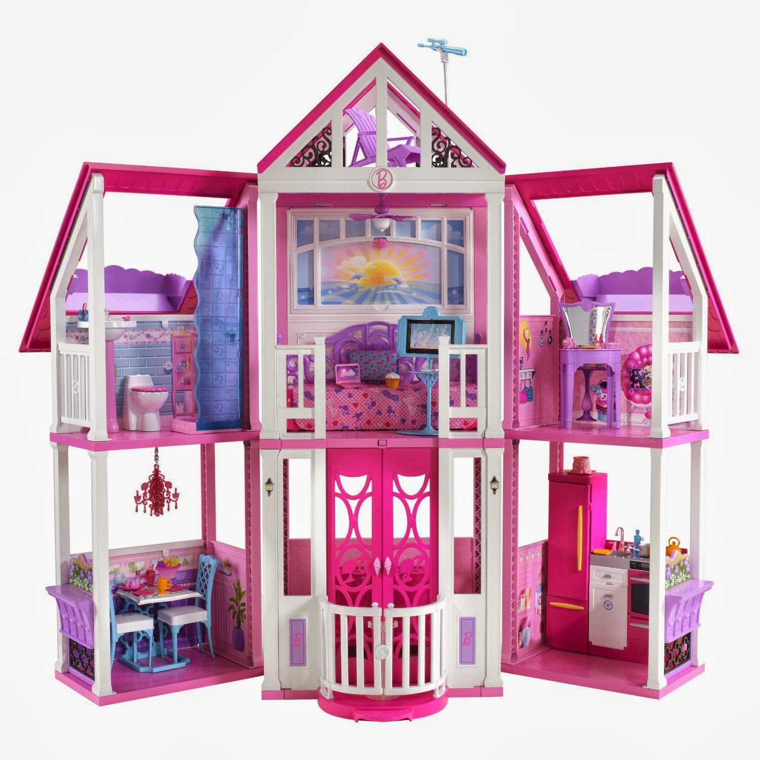 barbie the house