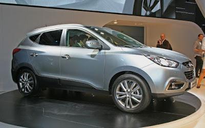 2011 Hyundai Tucson in auto show
