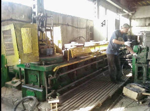 Изготовление стальной проволоки фото