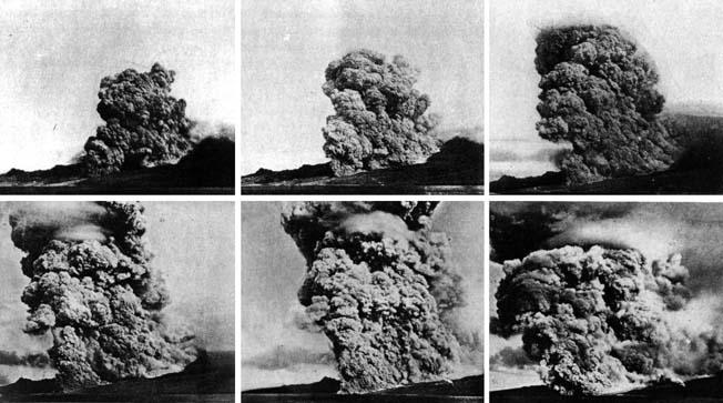 Krakatau eruption