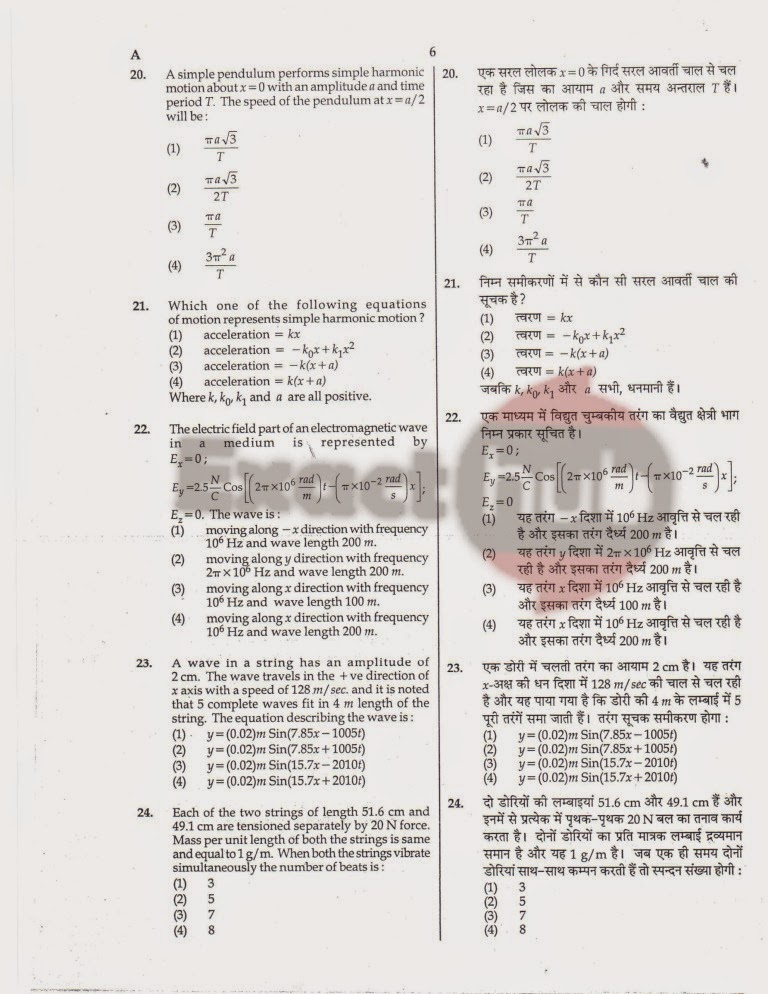 AIPMT 2008 Exam Question Paper Page 07