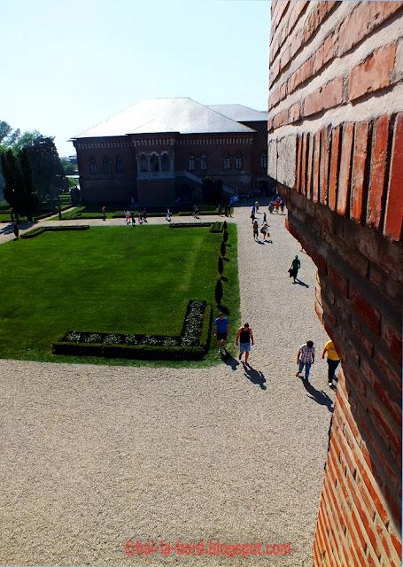 palatul mogosoaia vedere din turn