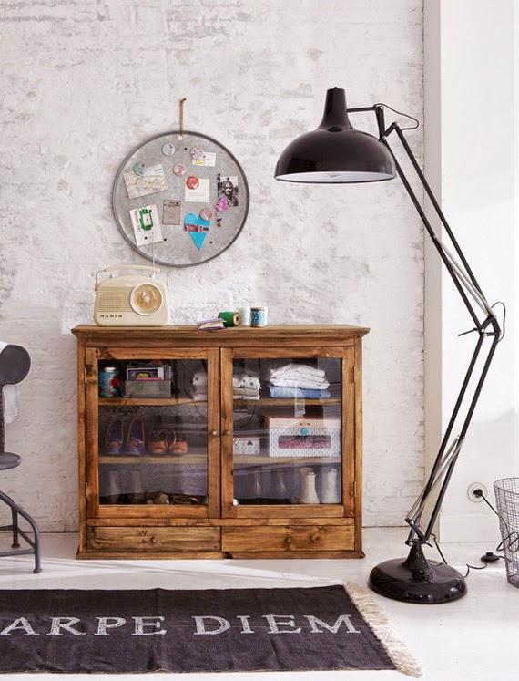 ideia simples - mural de lata - para fazer em casa
