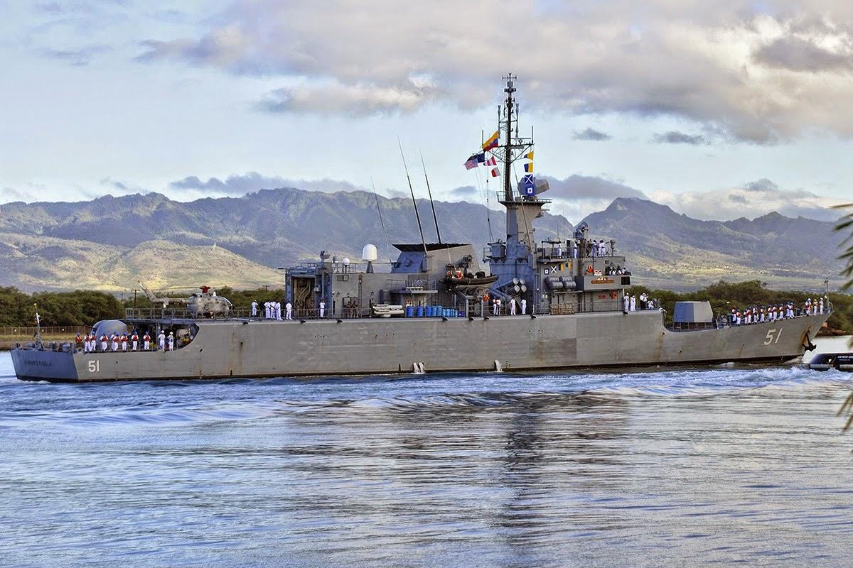 RIMPAC ARC Almirante Padilla Colombia
