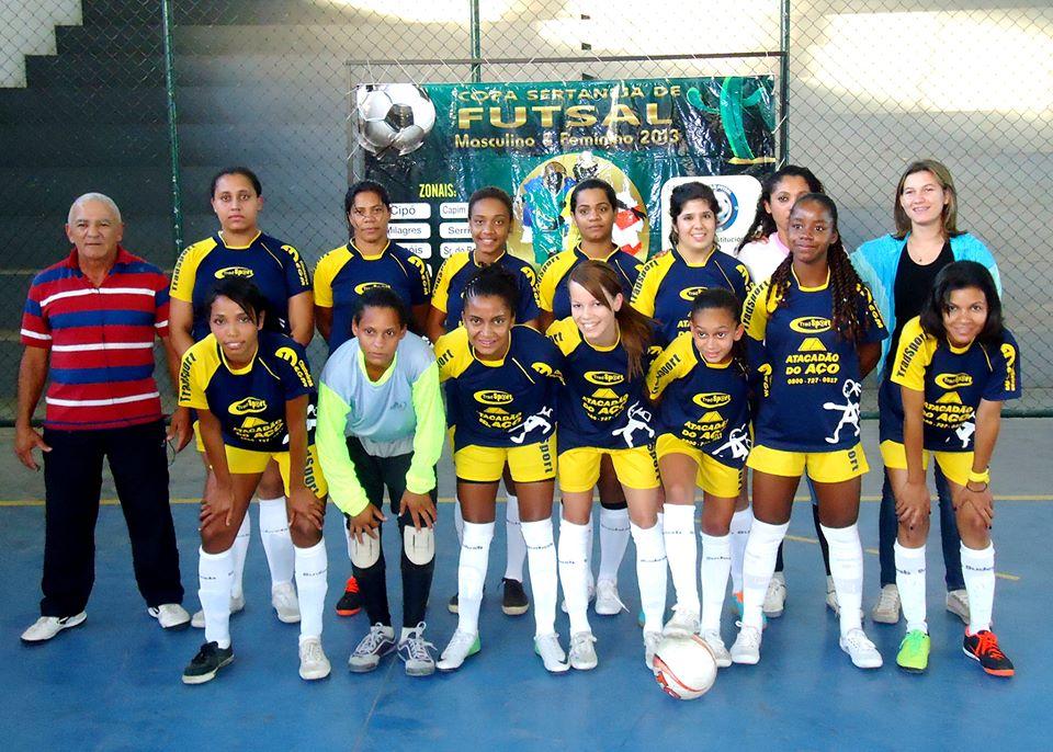 Seleção feminina de Futsal de Amargosa avança para as quartas de finais da Copa Sertaneja