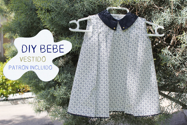 DIY ropa bebe como hacer vestido nia patron
