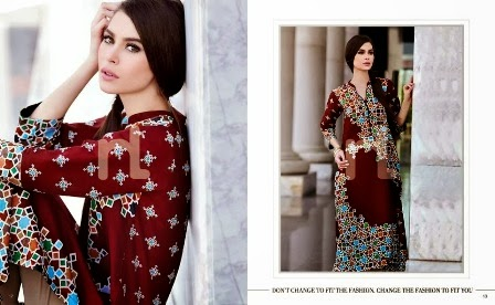 Summer Wear Lawn Suits 2014-2015