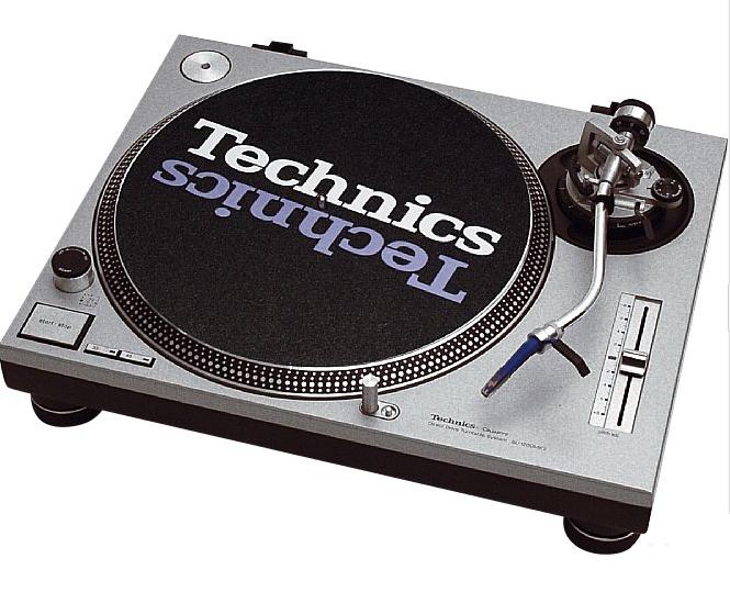 Toca Discos Technics MK 1200