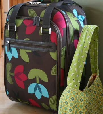 Crazy Mom Quilts Flying With Your Sewing Machine