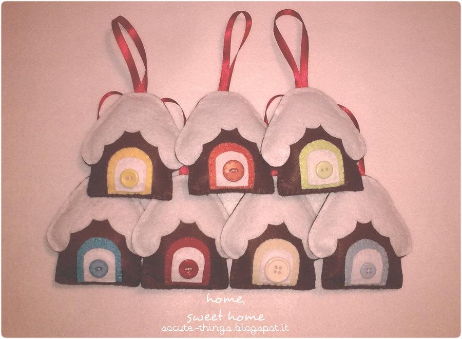 Christmas Free Pattern: casetta di cioccolato!
