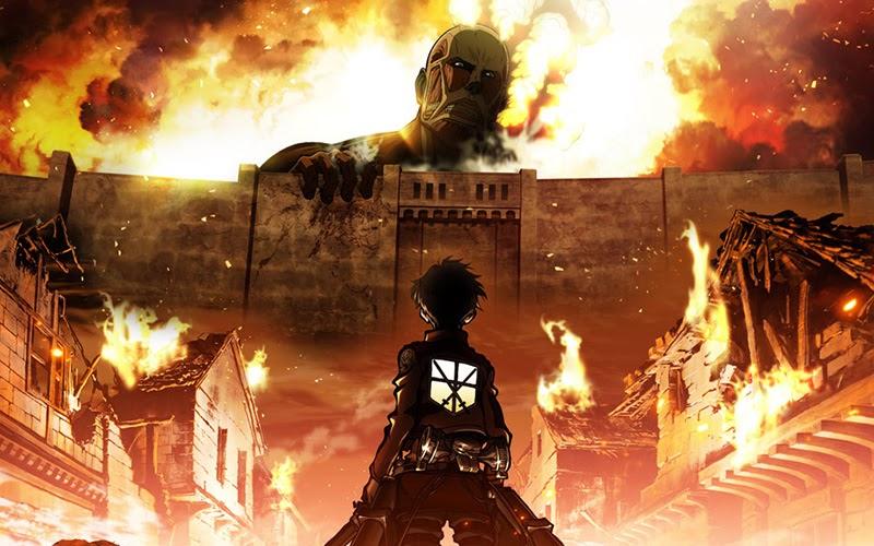Attacco dei giganti anime Shingeki no Kyojin