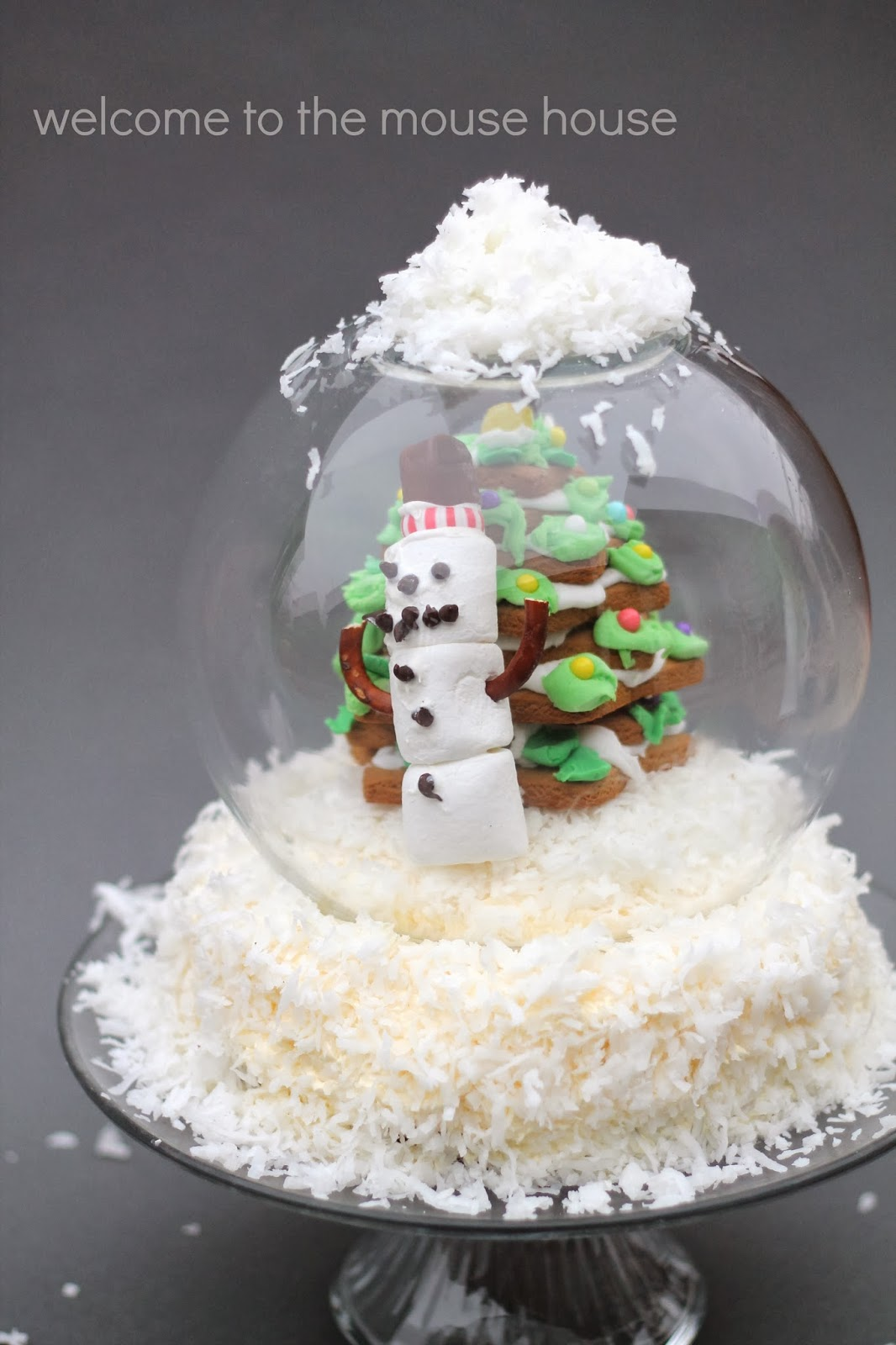 the snow globe cake welcometothemousehousecom