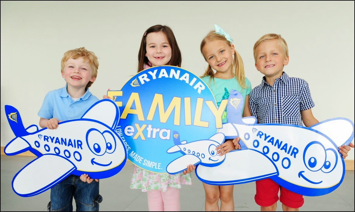 Descuentos Ryanair familias